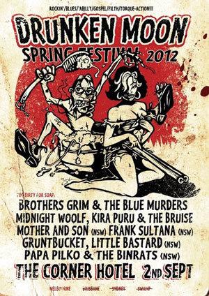 'Drunken Moon Festival' feat. BROTHERS GRIM & THE BLUE MURDERS